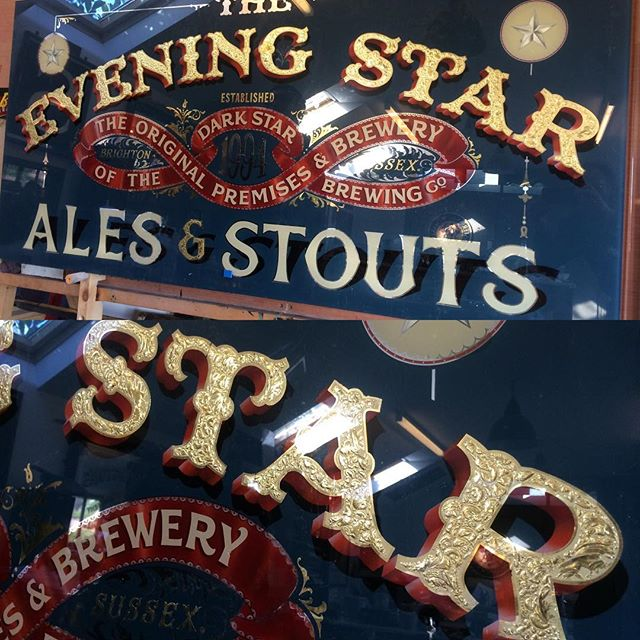 Courtesy of @brilliantsigns ready for @eveningstarbrighton reopening