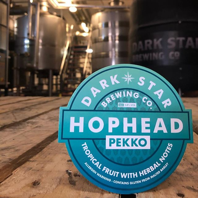 A little something new that launches next week. Each January we have a little bit of fun playing with a new hop in Hophead. This year it's the turn of Pekko.